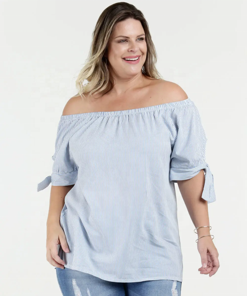 women plus size fashion Blouse
