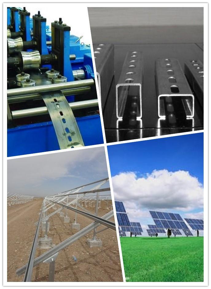 Solar Power Bracket Roll Forming Machine