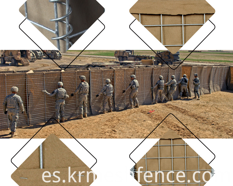 low price gabion hesco barrier wall for sale