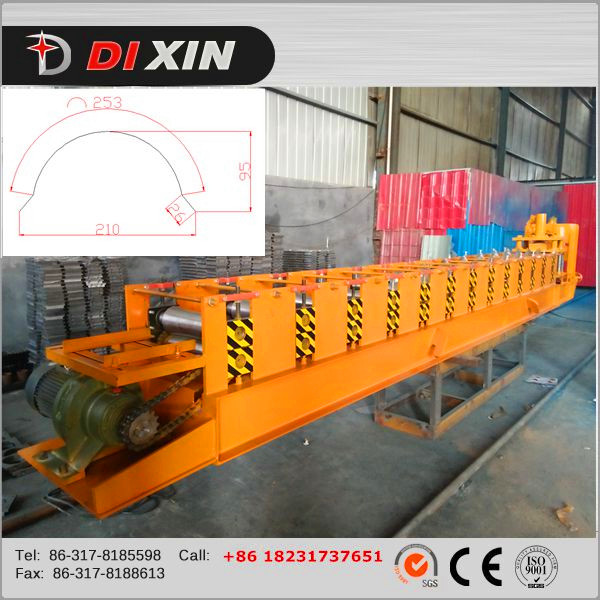 Automatic Metal Roof Ridge Cap Roll Forming Machine for Sale