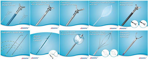 Surgical Instrument Manufacturer! ! Dilation Balloon Catheter with Balloon Inflator