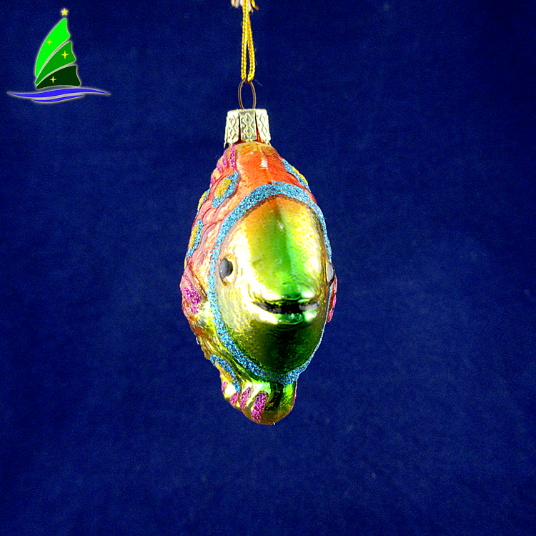Christmas Colorful Glass Ornament Decorations
