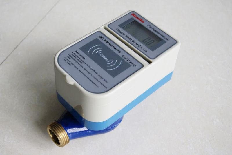 Accurancy 2 Water Meter Bypass Prepaid Digital Water Meter Flow Meters