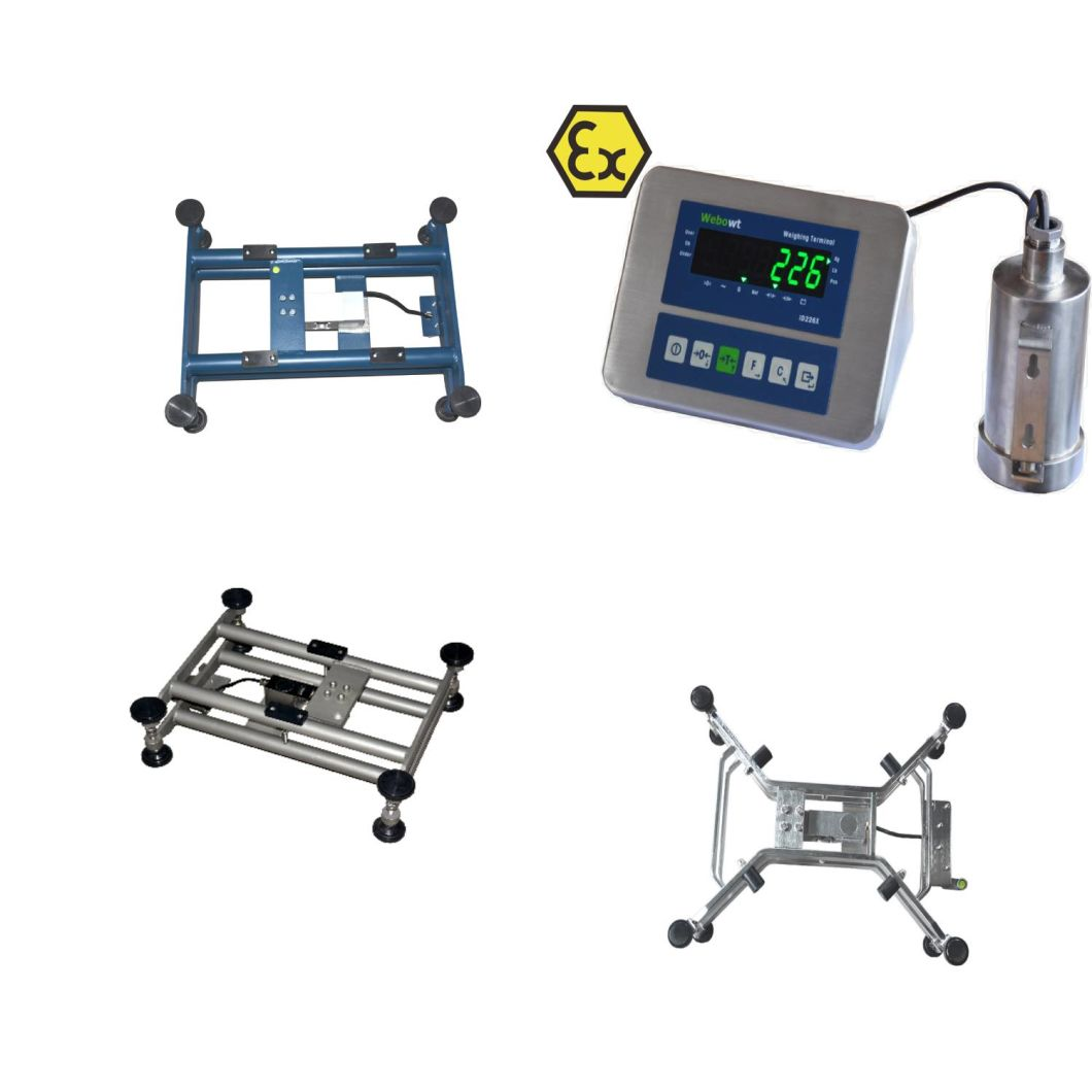 Rectangle Weighing Platform Scale