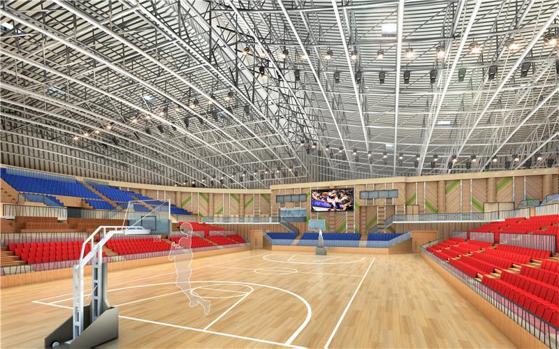 Prefab Galvanized Lightweight Space Stadium