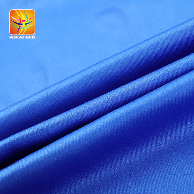 Wrinkle Style Satin Fabric
