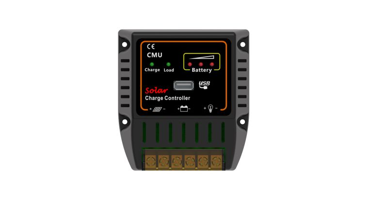 PWM 12V 24V 20A Solar Battery Power System Controller with USB Charger