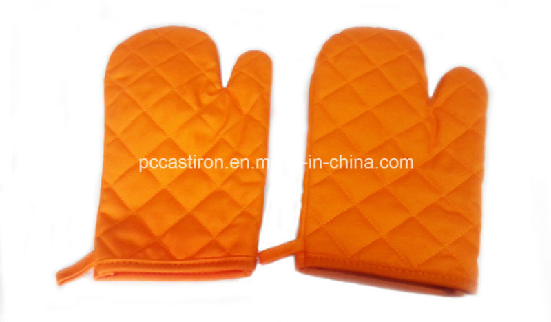 Heat Resisted Flame Retarded Outdoor Cotton BBQ Gloves