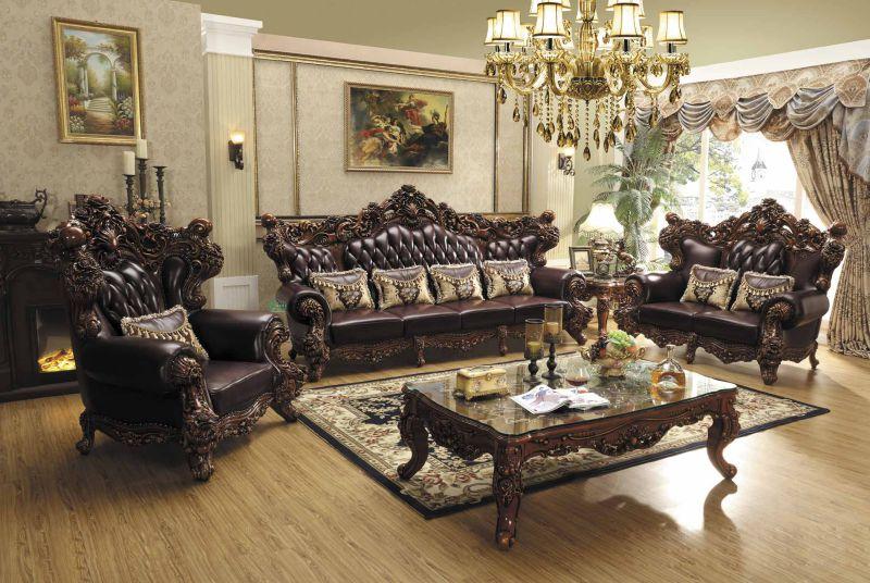 Classic Fabric Sofa Set for Living Room Furniture (531A)