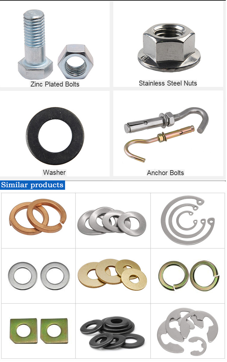 Stainless steel External teeth serrated lock washers