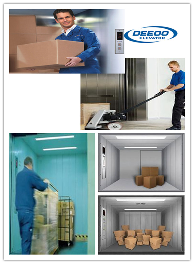 Deeoo Residential Cargo Freight Elevator with Good Price