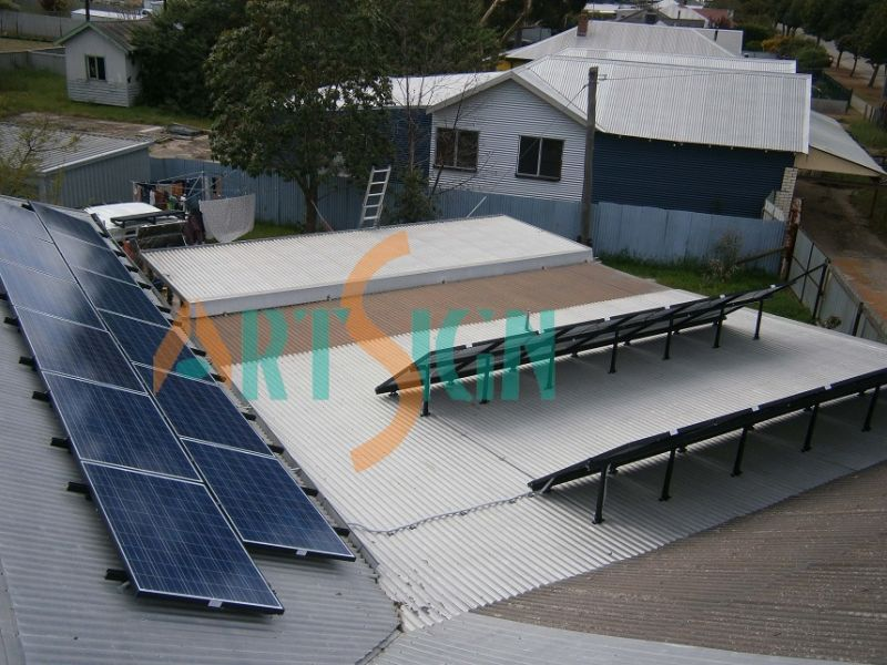 Flat Roof Solar Mounting System Solar PV Roof Mounting