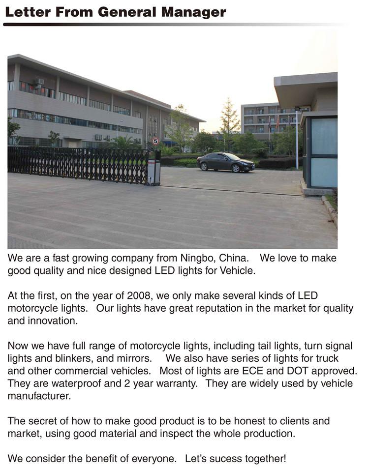 Ltl2009f IP67 Waterproof Marker Clearance LED Light Truck