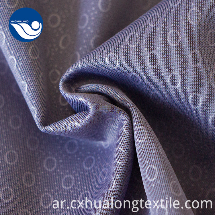 100% poly tricot fabric