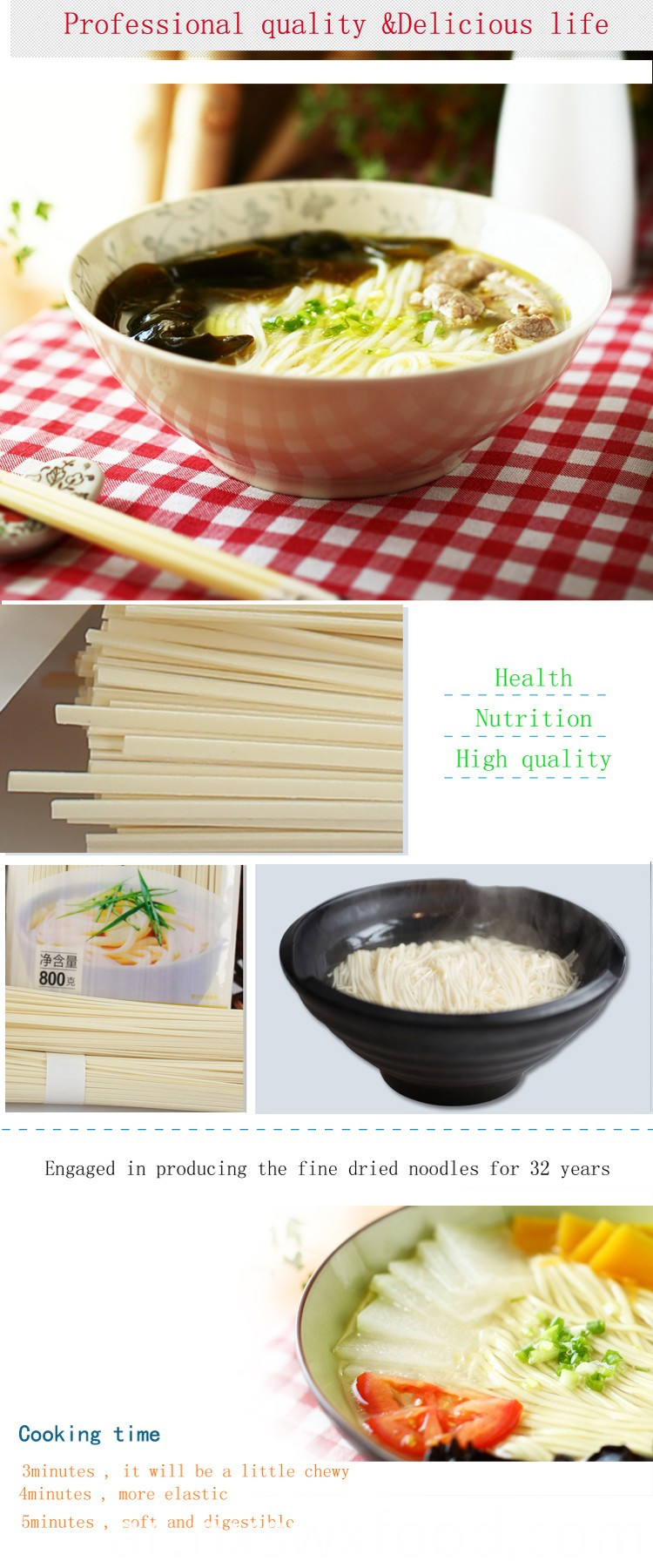 Infant Edible Noodles