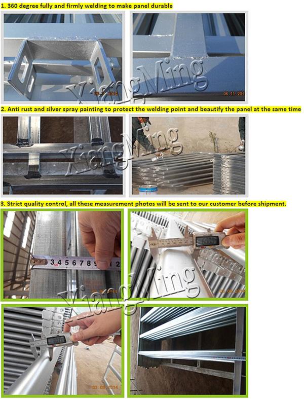1.8X2.1m Cattle Gates Cattle Panel Corral Panels Livestock Panels