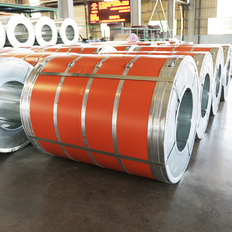 Color Prepainted steel coil