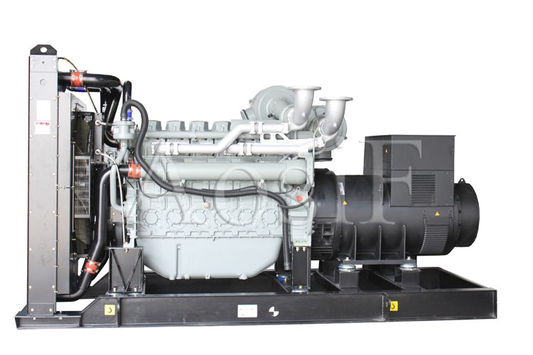 Aosif Soundproof Generator with Perkins Engine & Brushless Alternator