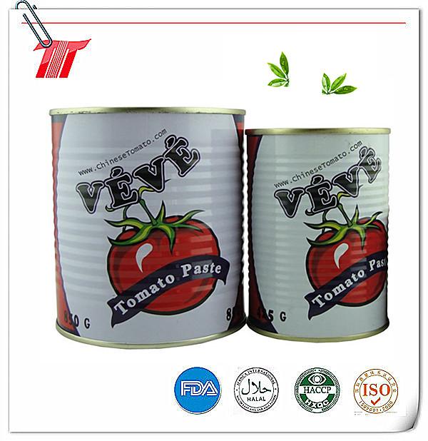 400g Veve Brand Organic Canned Tomato Paste