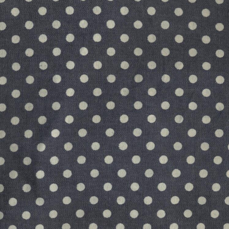 Twill Printed Knitted Denim Fabric for Women's Clothes