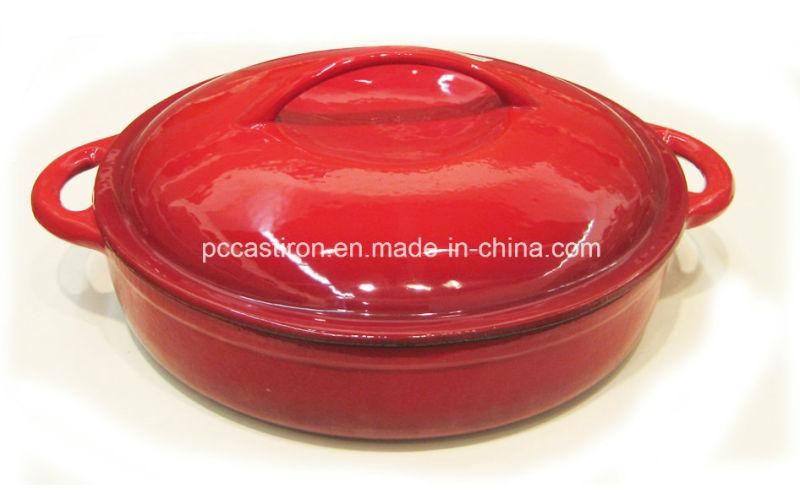 Enamel Cast Iron Sauce Pot Manufacturer From China