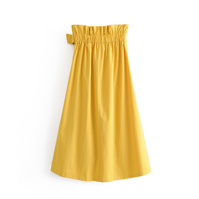 Comfortable Soft Pleated Skirt