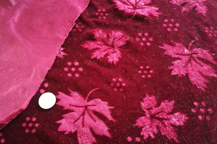 Mirco 3D Embossed Velvet Fabric