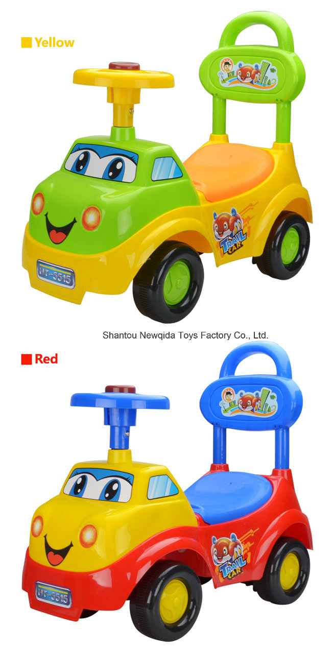 High Quality Twist Swing Baby Walker Car with Brake Function