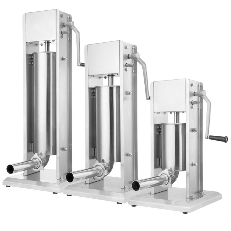 4 Filling Spouts Vertical Sausage Press Machine