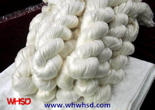 3A 4A 5A 20/22D 100% Mulberry Raw Silk Yarn