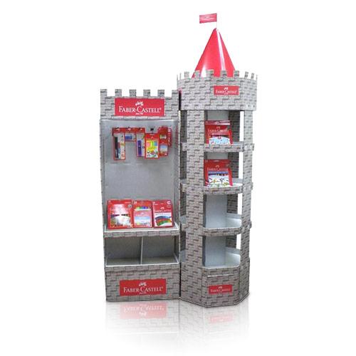 Pop Cardboard Display for Hardware, Store Paper Display