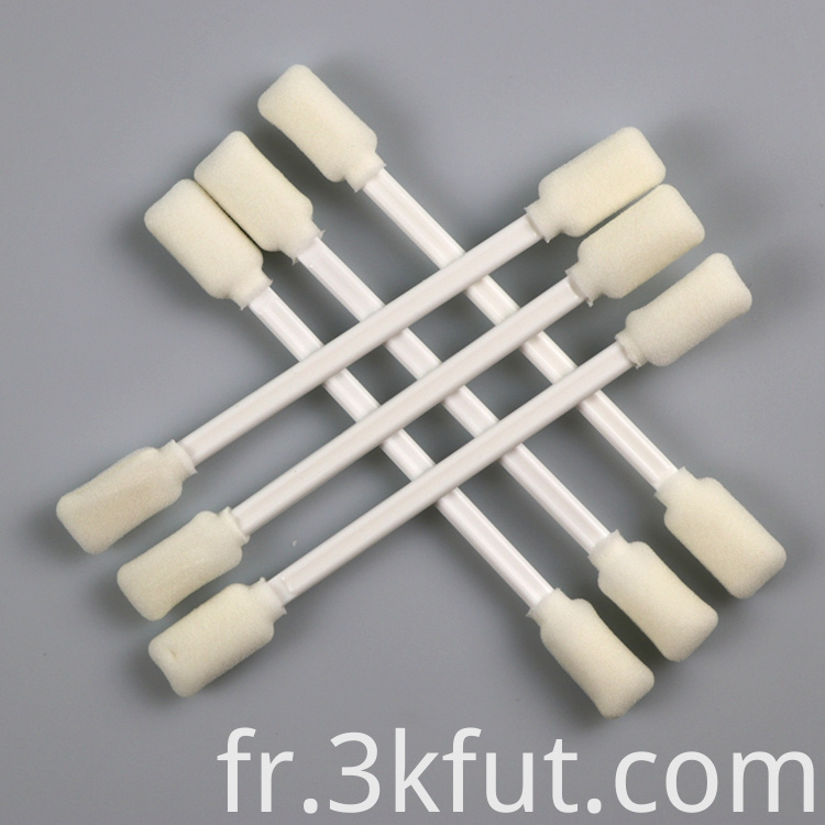 double side foam swab