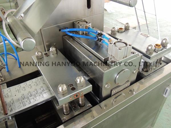 Food Grade Small Jam Honey Blister Packing Machine