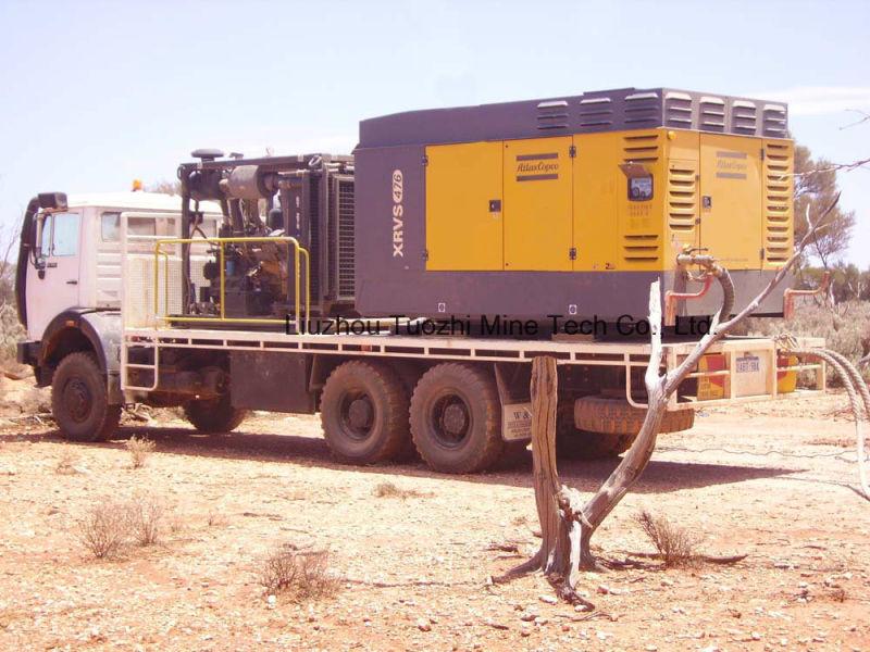 Atlas Copco 782cfm Portable Screw Air Compressor for Ming