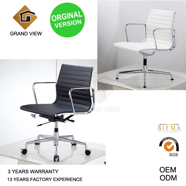 Orginal Version Eames Leather Chair (GV-EA117)