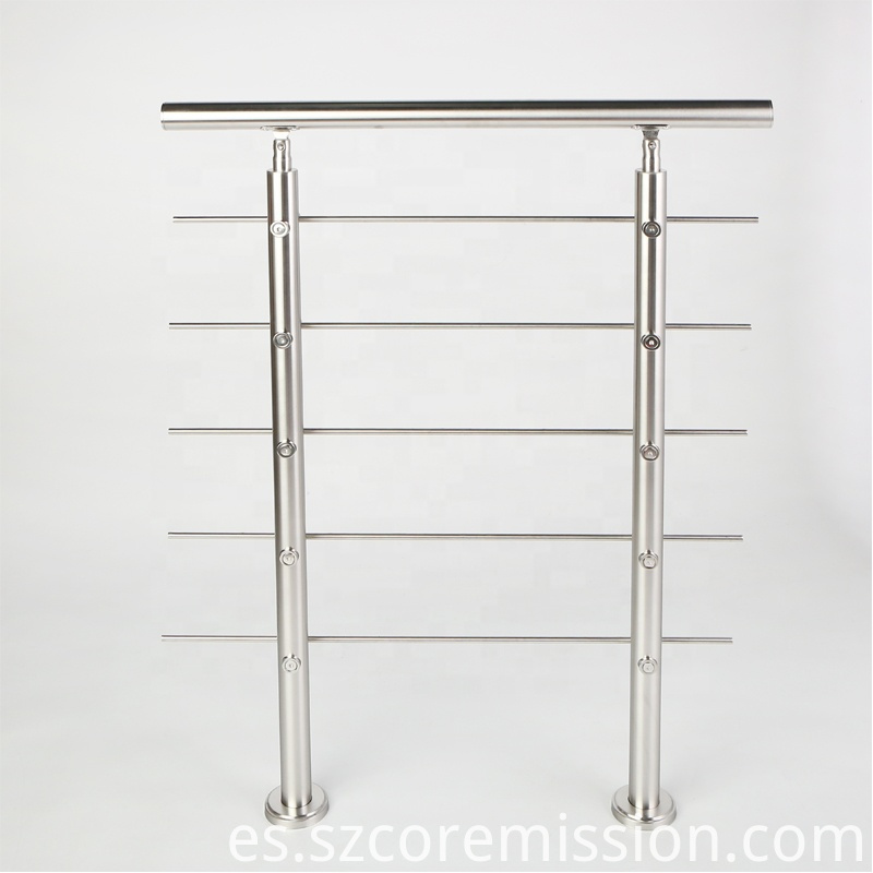 Flexible Waterproof Antirust Stainless Steel Stair Handrail