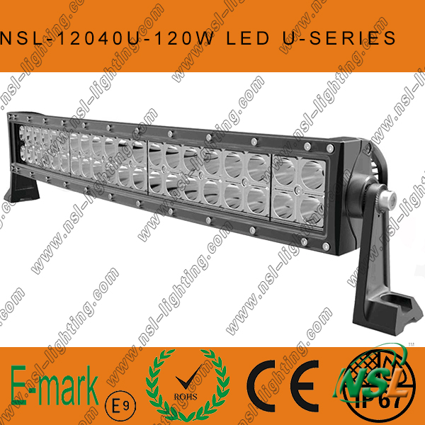 2016! ! ! 30inch Super Bright 180W Creee Curved-U Series LED Light Bar, 180W LED Light Bar