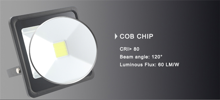50W SMD Hot Selling LED Square Floodlight for Outdoor