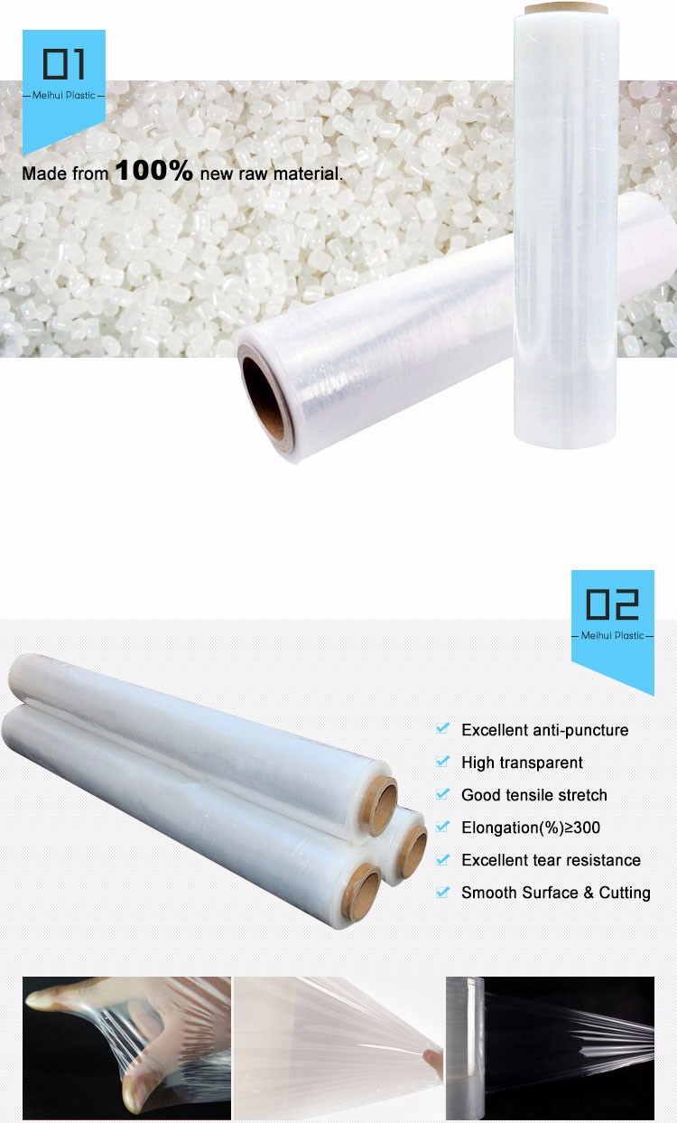 PE Machine Stretch Film for Pallet Wrapping