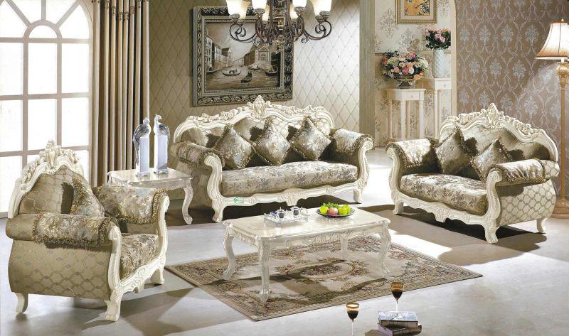 Living Room Sofa / Home Sofa / Fabric Sofa (929M)