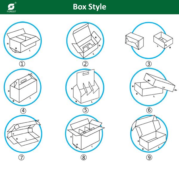 Corrugated Packing Logo Printing Box (FP7008)