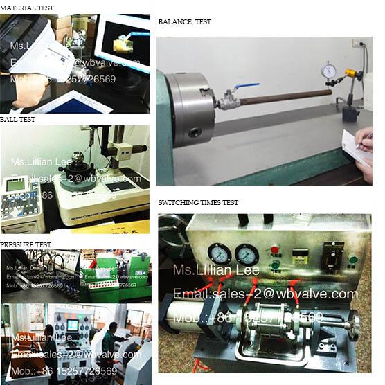 Electirc 3PC Female Thread Industrial Ball Valve with Actuator