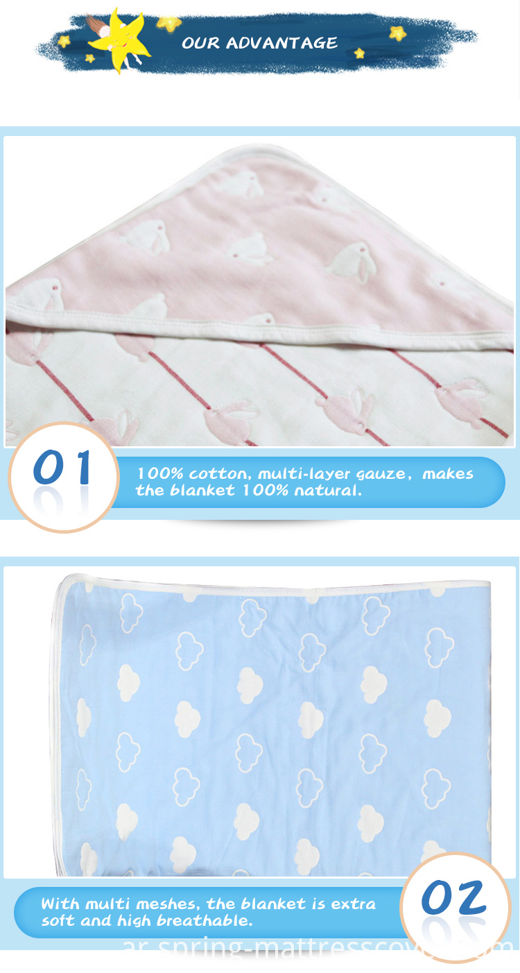 Soft Security Multilayer Blankets