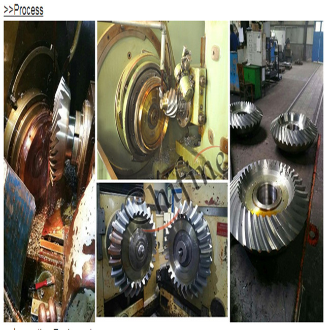 Casting C45 Bevel Gear Used for Machinery