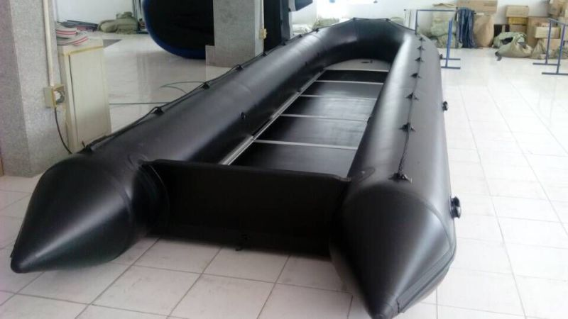 High Quality PVC Inflatable Rescue Boat, Fishing Boat with CE