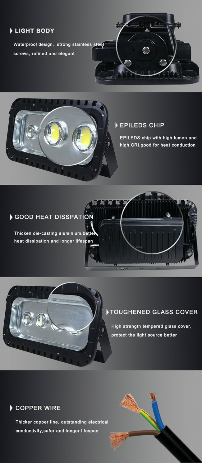 Top Quality IP65 OEM LED Flood Lighting 240W