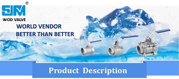 One Piece Ball Valve Without Locking