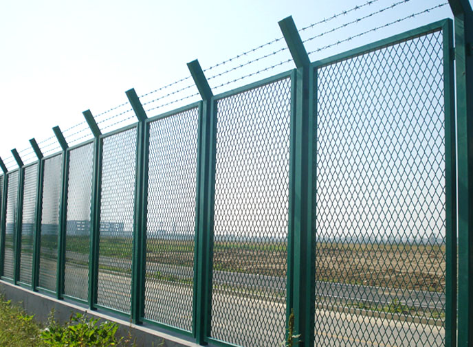 Factory Expanded Metal Mesh Fence