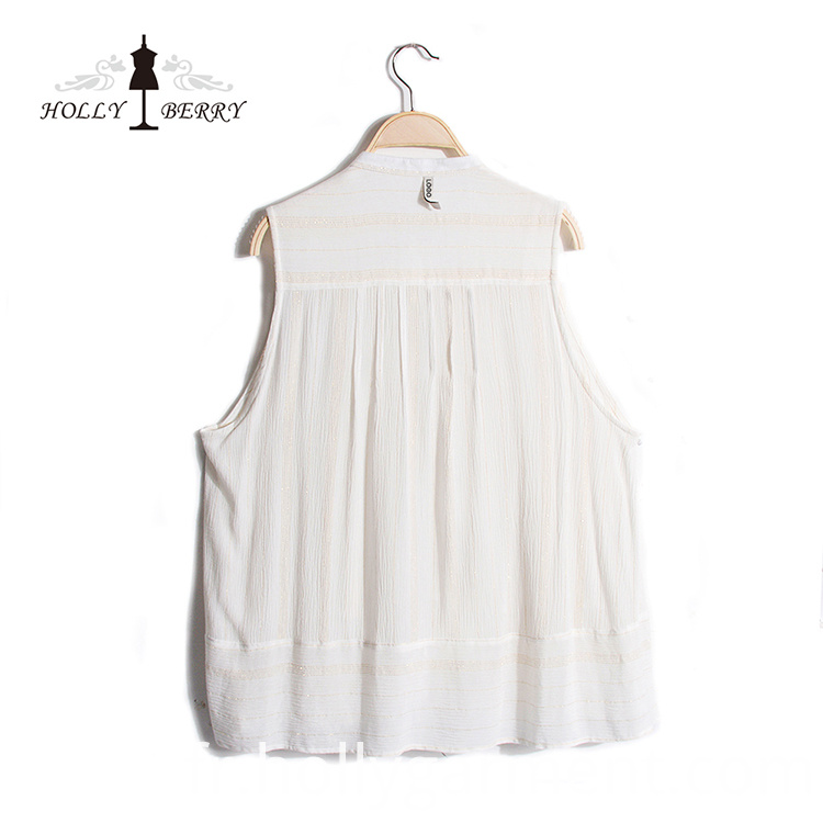 Woven Breathable Lady Vest