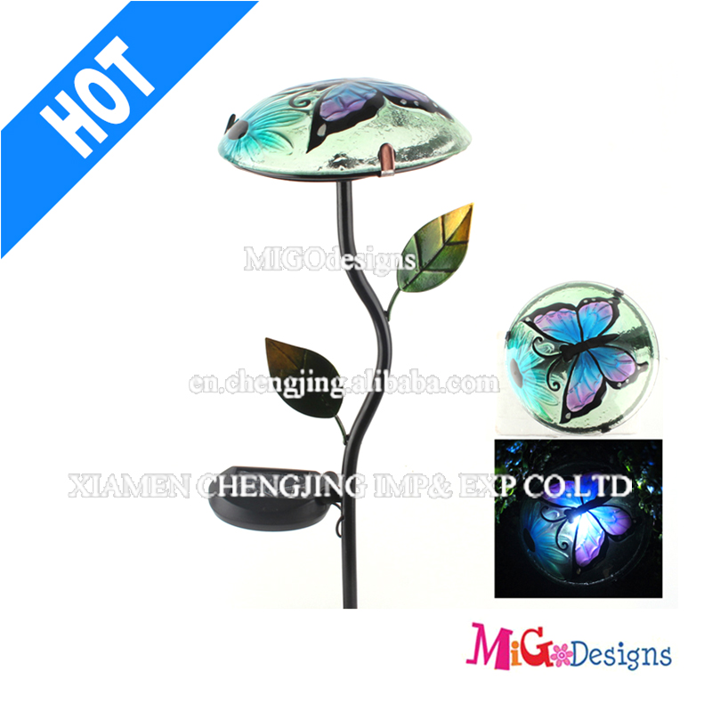 Fashionable Light Yard Metal Stake Garden Light Solar Light